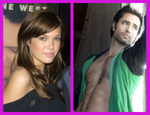 My famous and beautiful inspirations for Taryn Michaels and Evan Connolly.
